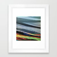 TV Scanning Framed Art Print