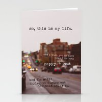 Perks Of Being A Wallflo… Stationery Cards