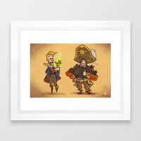 #85 - Tales Of Monkey Is… Framed Art Print