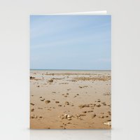 Sun And Sand Color Natur… Stationery Cards