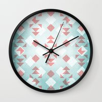 Water Hyacinth Wall Clock