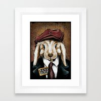 The Usual Suspects // Evil Joe Framed Art Print