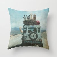 NEVER STOP EXPLORING II … Throw Pillow
