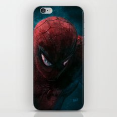 Spider-Man painting iPhone & iPod Skin