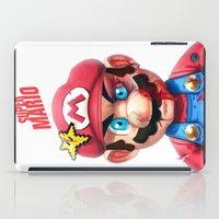Beat Up Mario iPad Case