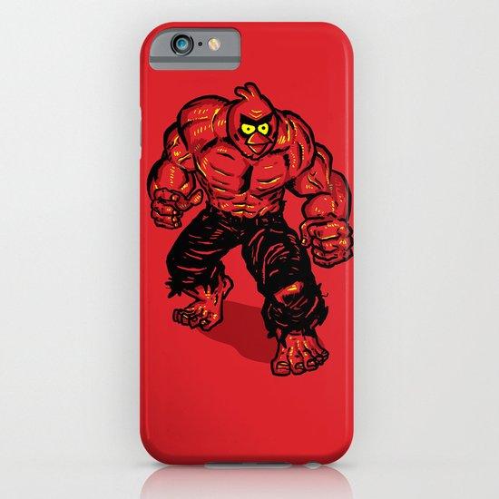 Angry Bird hulk Red iPhone & iPod Case