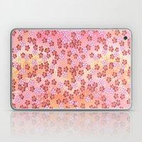 Rosa Blümchen Laptop & iPad Skin