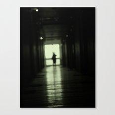 Blur play Canvas Print
