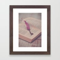 The Key To Imagination Framed Art Print