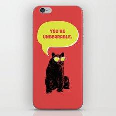 Unbearable iPhone & iPod Skin
