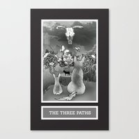 The Three Paths Canvas Print