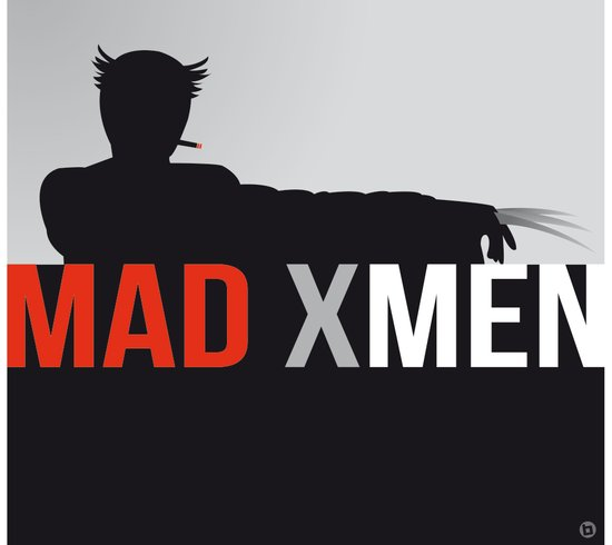 MAD X MEN Canvas Print