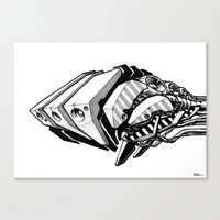 Machine object I Canvas Print