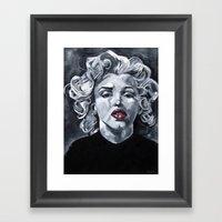 All I Wanted Was A Peak! Framed Art Print