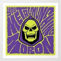 Metal Muncher Art Print