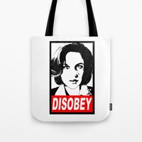 Disobey Scully Tote Bag