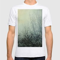 Dark Morning Mens Fitted Tee Ash Grey SMALL