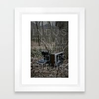 Technological Slavery Framed Art Print