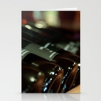 Wine Bottles Stationery Cards