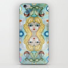 Libra Balancing Act iPhone & iPod Skin