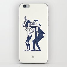 Just shut the fuck up and love me iPhone & iPod Skin