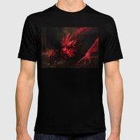 Smaug Mens Fitted Tee Black SMALL