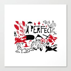 Perfect Day Canvas Print