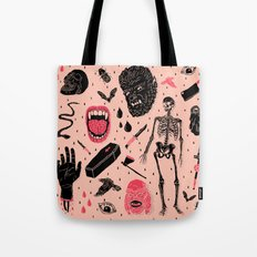 Whole Lotta Horror Tote Bag