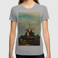 Once Upon A Time Womens Fitted Tee Athletic Grey SMALL