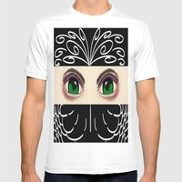 Reverse Masquerade Mens Fitted Tee White SMALL