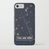 retro iPhone & iPod Cases featuring THE UNIVERSE - Space | Time | Stars | Galaxies | Science | Planets | Past | Love | Design by Mike Gottschalk