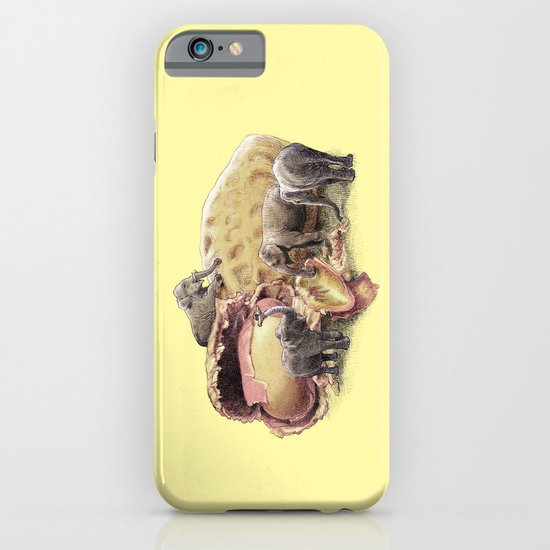 Elephant's Paradise (colour option) iPhone & iPod Case