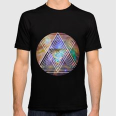 Cosmogeometry Mens Fitted Tee SMALL Black