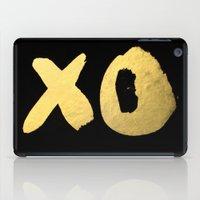 XO black iPad Case