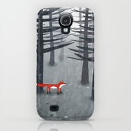 The Fox And The Forest Galaxy S4 Slim Case