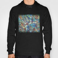 Dragonflies in blue Hoody