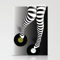 Minimal Music Minimal Fashion Stationery Cards