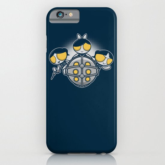 Sugar and Splice and Everything Nice iPhone & iPod Case