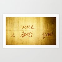 I Once Loved You Art Print