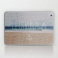 Let's Run Away: Sandy Be… Laptop & iPad Skin