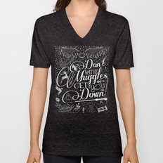 Don't let the Muggles get you down Unisex V-Neck