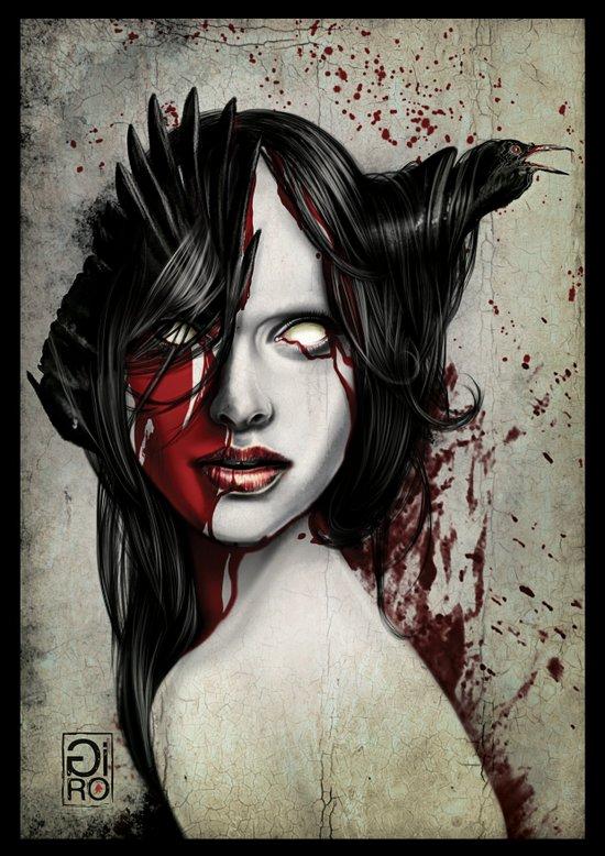 """""""Walk In Darkness"""" Art Print"""