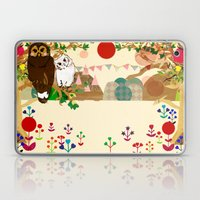 Front Cover For Cut-Clic… Laptop & iPad Skin