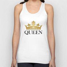 Queen Unisex Tank Top