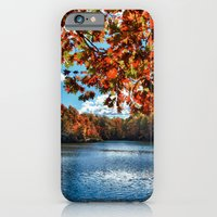 Fall Day at the Lake iPhone 6 Slim Case