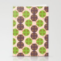 70s Inspired Pattern Stationery Cards