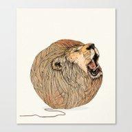Unravel Me Canvas Print