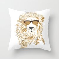 'king Cool Throw Pillow