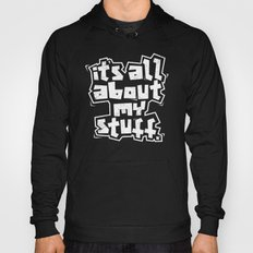 All about it. Hoody