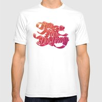 Live Fast Die Young Mens Fitted Tee White SMALL